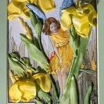 Ribbon-Art.net ― Галерея художественных работ― ― галерея работ, вышивка шёлковыми ленточками, образцы и примеры