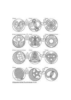 Jewel motifs etc Lace Jewelry, Metal Jewelry, Jewelery, Bobbin Lacemaking, Bobbin Lace Patterns, Lace Heart, Needle Lace, Lace Making, Cutwork