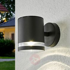 Buy Grey LED solar outdoor wall lamp Melinda ✓Top-rated service ✓Comfortable & secure payment Years of experience ✓Order now! Outdoor Solar Wall Lights, Outdoor Wall Lamps, Outdoor Walls, Panel Led, Coastal Lighting, Wall Installation, Can Lights, 5 W, Led Lampe