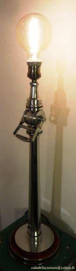 """Lampe à incendie vintage"""" Fireman's Tower """" -"""