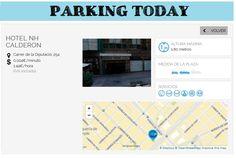 wesmartPark Parking - Hotel NH Calderon - Ubicación: Diputación 254. Únete a la #parkvolucion y a la economía colaborativa!