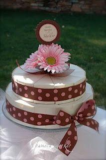 Lembrancinhas e Festas: Como fazer bolo falso de papel                                                                                                                                                     Mais