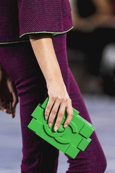 Chanel's Lego Block clutch.