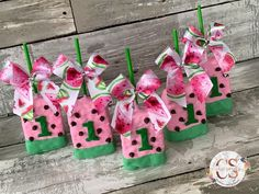 Watermelon Birthday, Gift Wrapping, Gifts, Gift Wrapping Paper, Presents, Wrapping Gifts, Favors, Gift Packaging, Gift