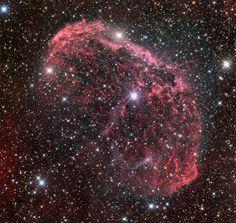 NGC 6888 - The Crescent Nebula [2859 x 2704] http://ift.tt/2qRlKQ2