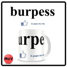 Crossfit burpess no one likes mug