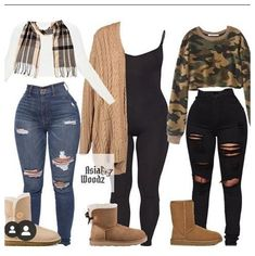 Cute Lazy Outfits, Swag Outfits For Girls, Cute Swag Outfits, Teenage Girl Outfits, Teenager Outfits, Dope Outfits, Winter Fashion Outfits, Winter Swag Outfits, School Outfits