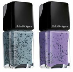 Available in five pastel shades, each with huge chunks of matte black glitter, Illamasqua's Nail Varnish is absolutely unlike anything we've ever seen!