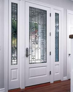 Fantastic White Front Door With Gl New Ideas Exterior Centralazdining