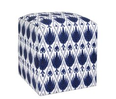 Looking for a decorative and functional upholstered storage bench to your living room? Boston Interiors has a large selection of wooden and upholstered storage trunks, cubes, and benches. Upholstered Storage Bench, Bench With Storage, Boston Interiors, Ikat, Woven Fabric, Roxy, Living Rooms, Cube, Ottoman