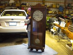 Vintage Strausbourg Manor Clock 31 Day Chime By