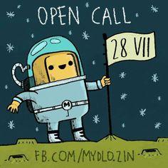 Open call for our #4 issue All information on: http://mydlo-zin.blogspot.com/p/english-version.html?m=1  #zine #fun #comics #cartoon #illustration #sounfuny #zine