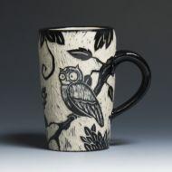 owl mug ♥ Kathy King