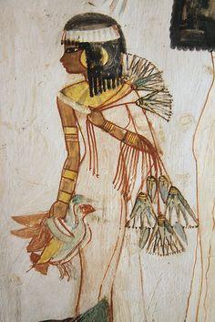 Tumba de Menna tt69 , Luxor , Egipto