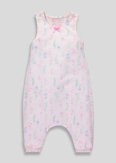 Creative Monsoon Girls Romper Sleepsuit 0-3 Months floral Low Price