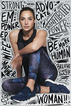 Your search for inspiration stops here! Reebok is back with another incredibly empowering female-driven campaign, and this time, things are getting personal. Graphic Design Trends, Graphic Design Posters, Graphic Design Inspiration, Typography Design, Lettering, Graphisches Design, Cover Design, Layout Design, Creative Design