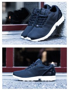 "9b36230cbe1d adidas ZX Flux Weave ""Black Elements"" very similiar to the nikes"