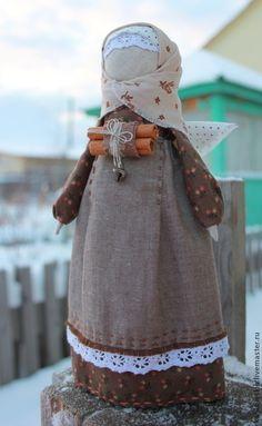 """Народные куклы ручной работы. Ярмарка Мастеров - ручная работа Кукла Ангел """"Пряная корица"""". Handmade."""