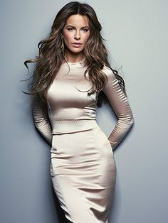 Kate Beckinsale; by John Russo.