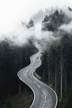 Dream Road Road Road Trip Road Photo Landscape photography Drive travel wanderlust on the road empty road Schomp BMW Road Photography, Landscape Photography, Photography Ideas, Natur Wallpaper, Forest Wallpaper, Empty Road, Beautiful Roads, Winding Road, Photos Voyages
