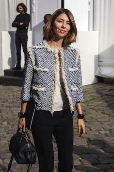 Sofia Coppola, un estilo sencillo y chic - Pintagram Online Fall Fashion Week, Best Of Fashion Week, Work Fashion, Autumn Fashion, Fashion Outfits, Womens Fashion, Sofia Coppola Style, Channel Jacket, Chanel Tweed Jacket