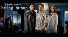 Being Human, starring Aidan Turner, Lenora Crichlow and Russell Tovey, 2008-13