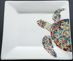 Square Turtle Dish - adorable and practical!
