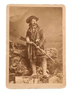 a young Buffalo Bill Cody c. 1870 -80.- my great-grandmother, grandmother and great uncle all knew Buffalo Bill while they all lived here in Denver....ms: