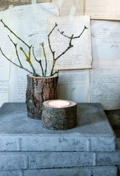 Lav fint pynt med kogler, grene og mos - tips og tricks | Kære hjem Table, Tips, Inspiration, Furniture, Home Decor, Glass Vase, Nature, Dekoration, Biblical Inspiration
