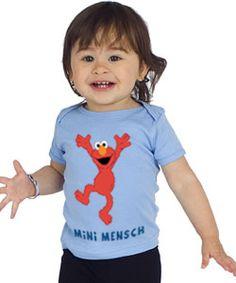 Gift idea: Shalom Sesame T-Shirts ... Ahhhh! I know someone who needs this.
