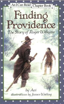 After being forced to leave the Massachusetts Bay Colony, Roger Williams travels south and, with the help of the Narragansett Indians, founds Providence, Rhode Island. Rhode Island History, I Can Read Books, Family Research, Reading Levels, Chapter Books, American History, Native American, Book Lists, Social Studies