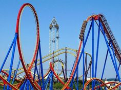Located in San Martín de la Vega, only a few kilometres from Madrid, the Parque Warner offers shows that surpass any seen before. Warner Madrid, Orlando, Big Dipper, Summer Glow, Before I Die, Summer Bucket Lists, Funny Games, Travel With Kids, Las Vegas