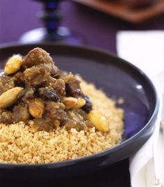 moroccan lamb tagine with raisins almonds and honey moroccan lamb ...