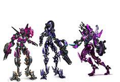 Transformers Sisters Arcee, Chromia & Elita One