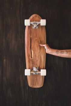 Rollholz Individual Wooden Skateboard von tomwilhelm89 auf Etsy