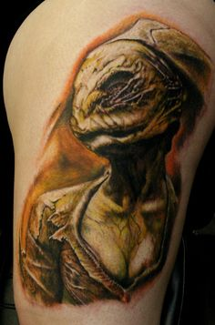 Silent Hill nurse leg piece #gaming #tattoo #SilentHill