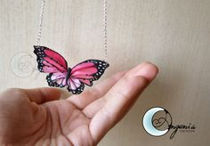 butterfly pink by ~AngeniaC on deviantART