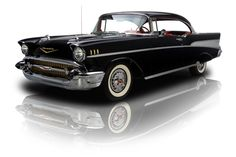 1957 Chevrolet Bel Air 383 Stroker with A/C - 1957 Chevy Bel Air, Chevrolet Bel Air, Classic Hot Rod, Classic Cars, Gm Car, Hot Cars, Luxury Cars, Vintage Cars, Dream Cars