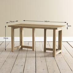 Lovely Reclaimed Wood Study Desk | Groovster | Loaf