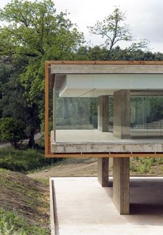 And a glass house