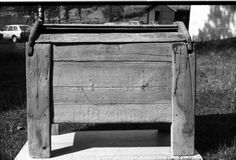 "The Berge chest, Nord-Aurdal, Vestre slidre, Valdres, Norway. 13th century. Runic instription dated to 1250 at the latest saying, ""Reidulv gjorde dér ark(en)"". Demonstrating the norse use of the word ark for this kind of chest. Used for storing salt until the 1920ies."