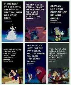 Lessons learnt from Disney
