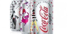 Les canettes Marc Jacobs pour Coca Cola Light enfin dévoilées !