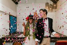 Wedding inspiration for Australian & New Zealand couples Industrial Wedding, Vintage Industrial, Confetti, The Dreamers, Wedding Inspiration, Couples, Color, Fashion, Moda