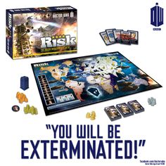 RISK, Doctor Who-style! I NEED THIS!!