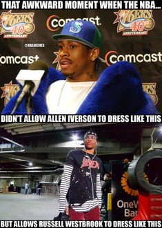 Dress code needs to be reinforced again.. 😂😂😂 #interestingsportsmemes Funny Nba Memes, Funny Basketball Memes, Nfl Memes, Basketball Quotes, Basketball Drills, Basketball Pictures, Basketball Legends, Girls Basketball, Funny Humor