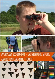 Homeschool Adventure Gear - tools for hands on learning & Wildlife Adventures Unit Studies from Adventures in Childrearing