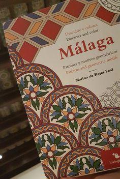 """Escondidos en los edificios históricos de Málaga, azulejos y artesonados como los del MPM han inspirado """"Descubre y colorea"""",en #LibreríaMPM"""