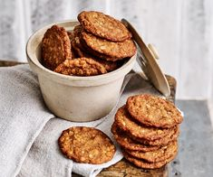 The best Anzac biscuit recipe, whether you like them soft and chewy or with an extra bit of bite!