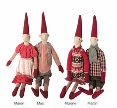 Maileg Danish Christmas Pixy, Medium